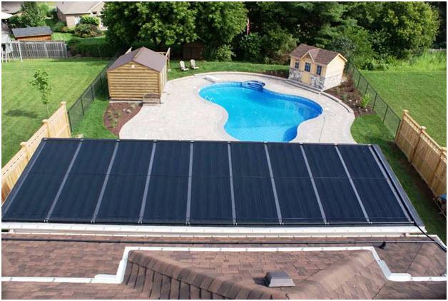 Solar Pool Heaters Roof