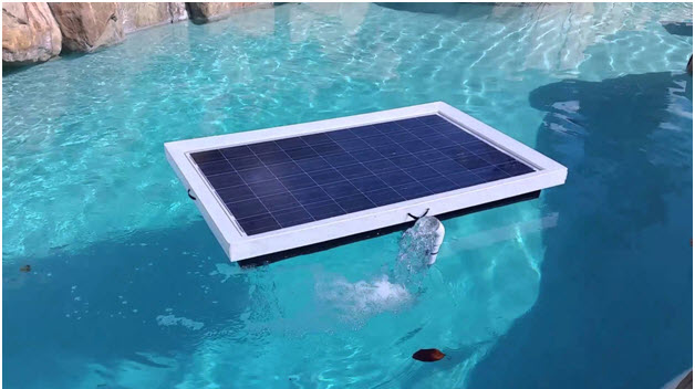 Floating Solar Pool Heaters