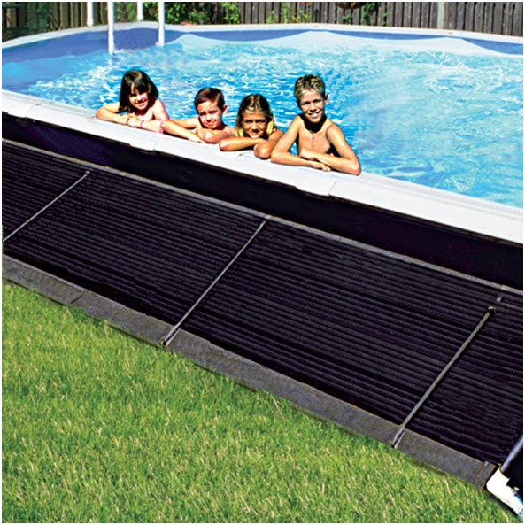 Solar Pool Heaters Side
